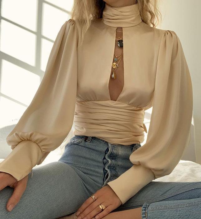 Самые модные блузки сезона весна-лето 2019